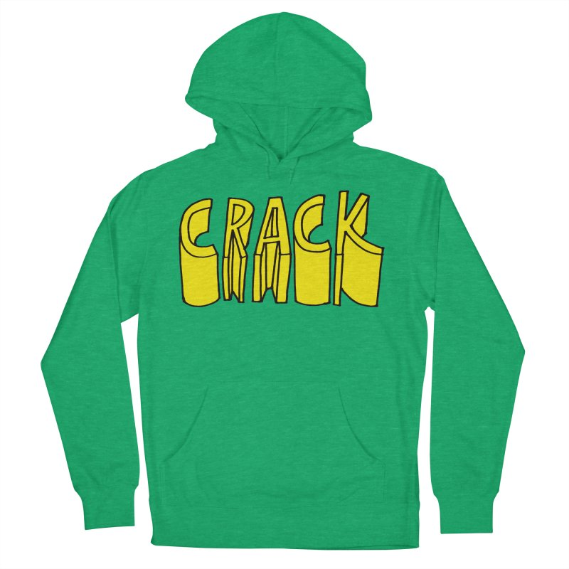 Crack Men's French Terry Pullover Hoody by