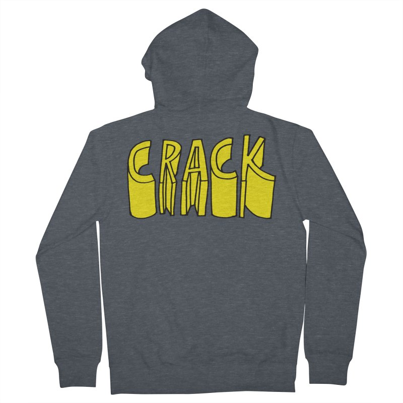 Crack Women's French Terry Zip-Up Hoody by