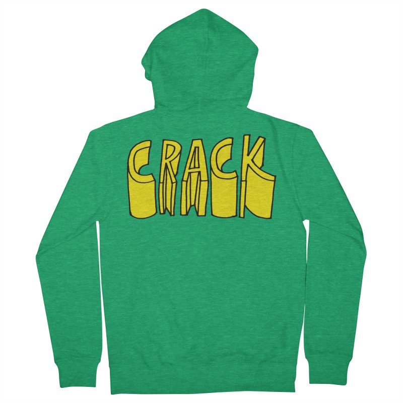 Crack Men's French Terry Zip-Up Hoody by