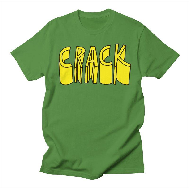 Crack Women's Regular Unisex T-Shirt by