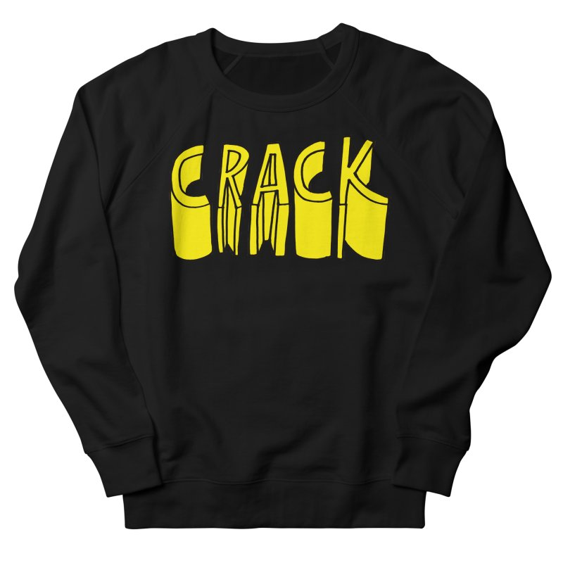 Crack Men's French Terry Sweatshirt by