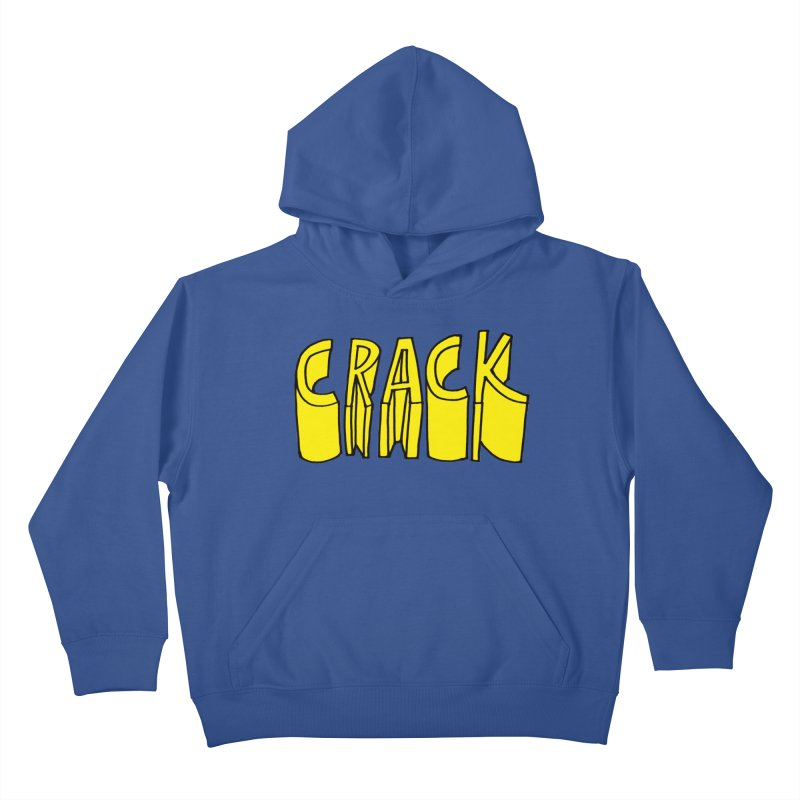 Crack Kids Pullover Hoody by