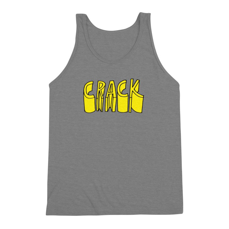 Crack Men's Triblend Tank by