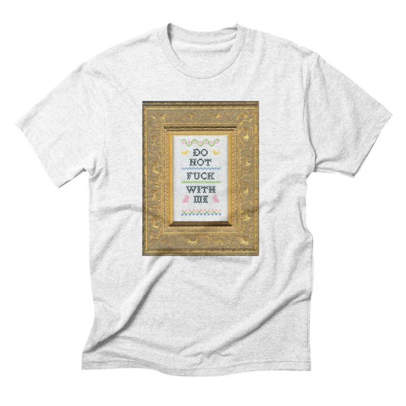 Do Not Fuck With Me   by subversivecrossstitch's Artist Shop