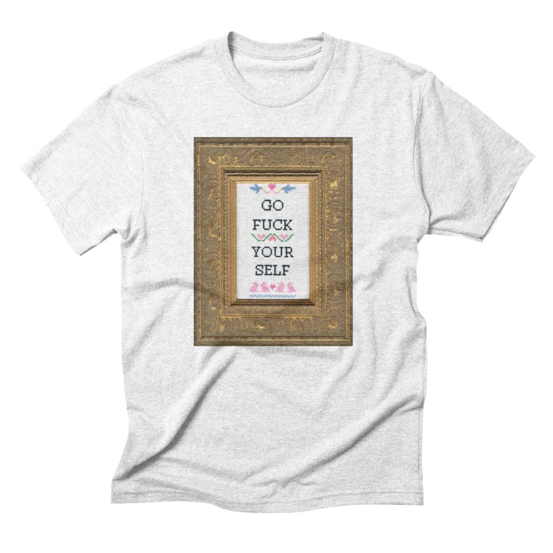 Go Fuck Yourself   by subversivecrossstitch's Artist Shop