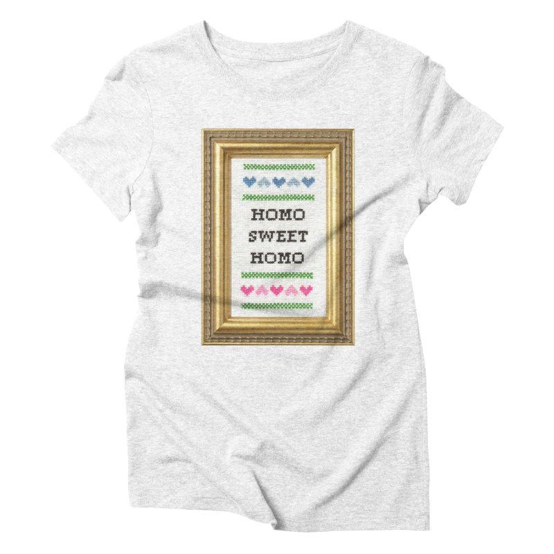 Homo Sweet Homo   by subversivecrossstitch's Artist Shop