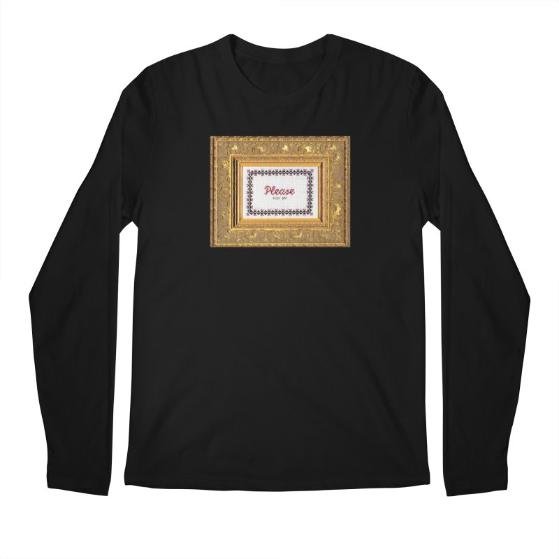 Please Fuck Off Men's Longsleeve T-Shirt by subversivecrossstitch's Artist Shop