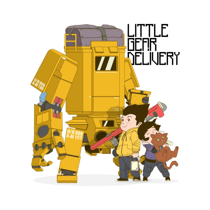 Little Gear Delivery by suedemonkey's Artist Shop