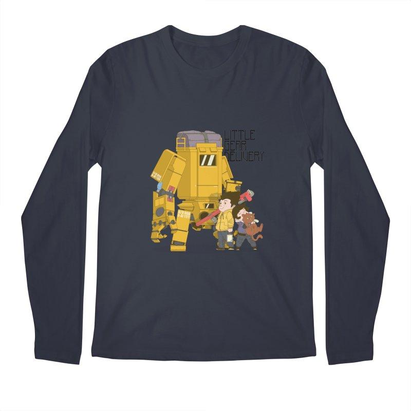 Little Gear Delivery Men's Longsleeve T-Shirt by suedemonkey's Artist Shop