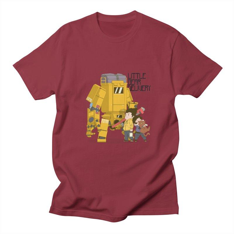 Little Gear Delivery Women's Unisex T-Shirt by suedemonkey's Artist Shop