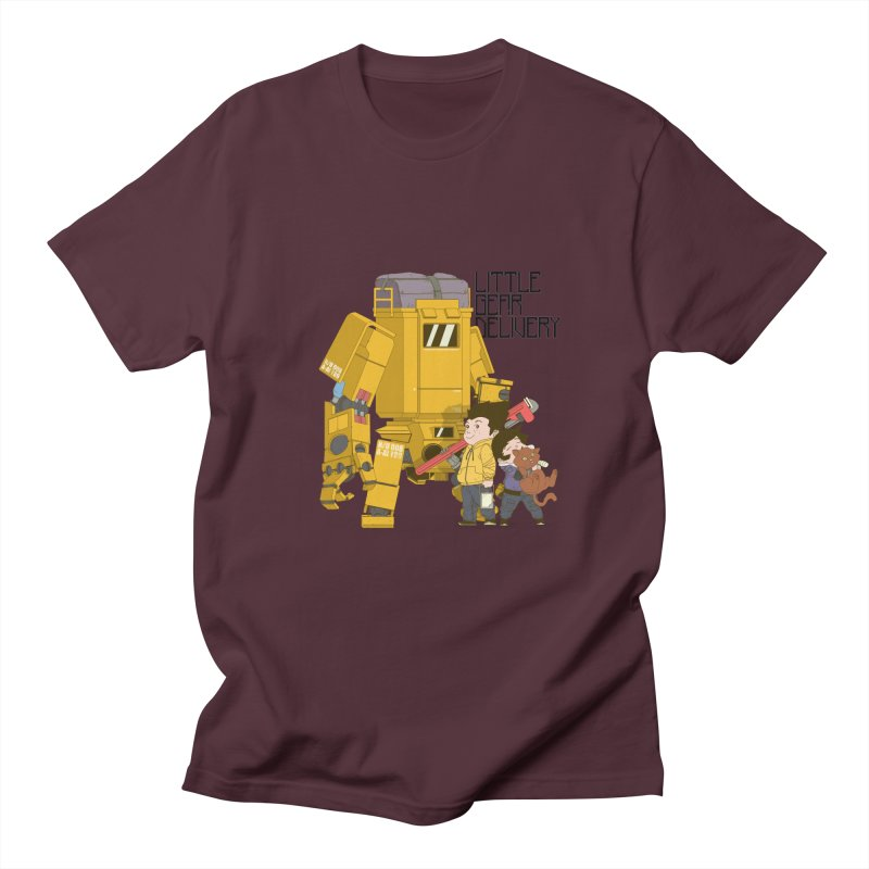 Little Gear Delivery Women's Unisex T-Shirt by suedemonkey's Artist Shop