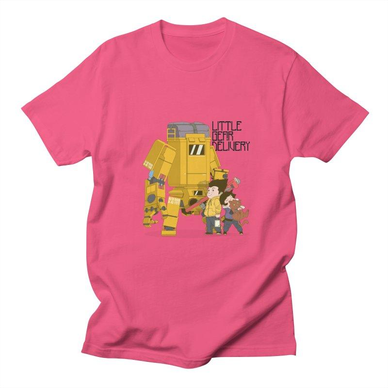 Little Gear Delivery Men's T-shirt by suedemonkey's Artist Shop