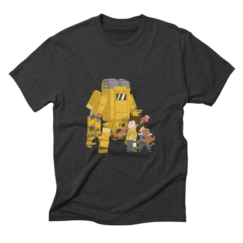 Little Gear Delivery Men's Triblend T-Shirt by suedemonkey's Artist Shop