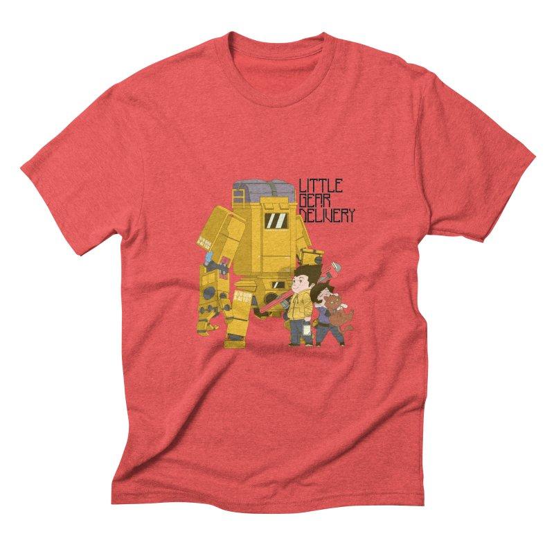 Little Gear Delivery Men's Triblend T-shirt by suedemonkey's Artist Shop