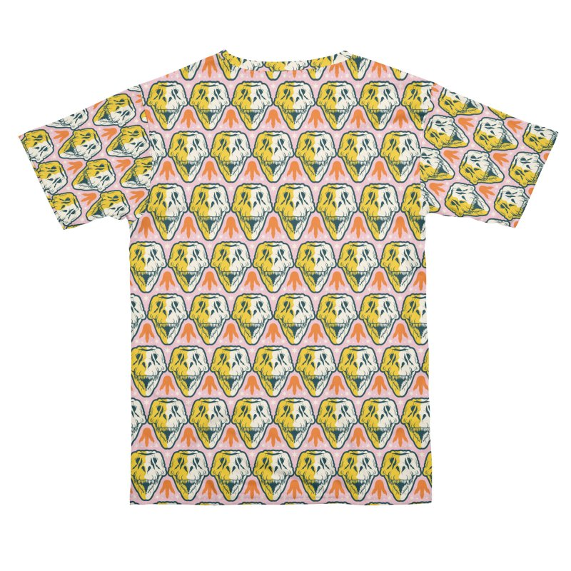 SUE Skull Pattern Men's Cut & Sew by suethetrex's Artist Shop