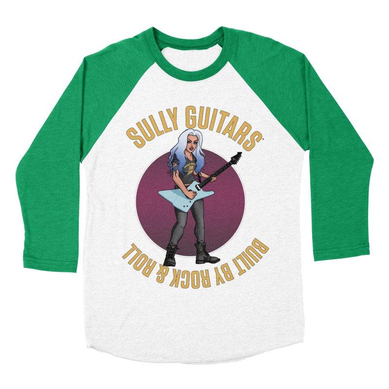 Elita (for light colored backgrounds) Women's Baseball Triblend Longsleeve T-Shirt by Sully Guitars Merch