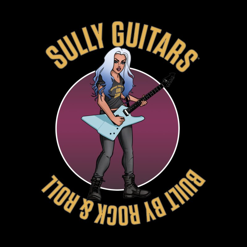 Elita (for dark colored items) by Sully Guitars Merch