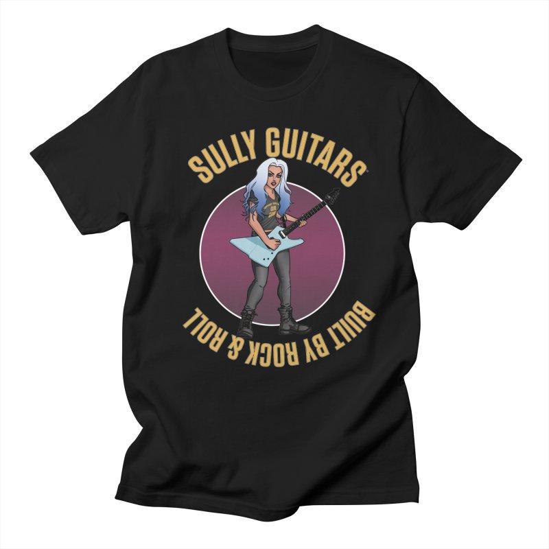 Elita (for dark colored items) Men's Regular T-Shirt by Sully Guitars Merch