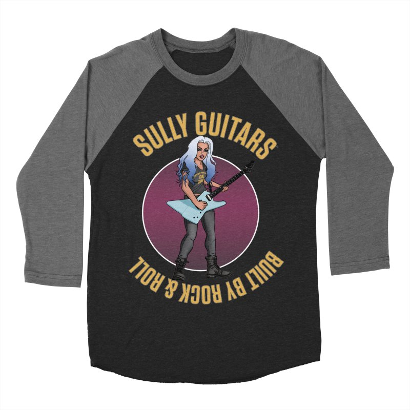 Elita (for dark colored items) Women's Baseball Triblend Longsleeve T-Shirt by Sully Guitars Merch