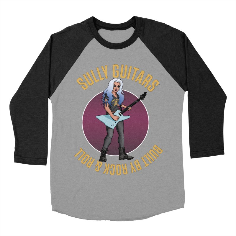 Elita (for dark colored items) Men's Baseball Triblend Longsleeve T-Shirt by Sully Guitars Merch