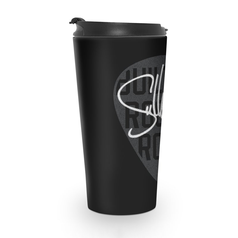 Sully Guitars - Built By Rock & Roll Guitar Pick Accessories Travel Mug by Sully Guitars Merch