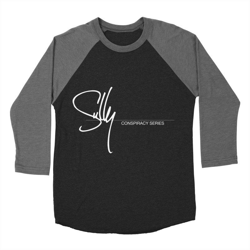 Conspiracy Series Logo Men's Baseball Triblend Longsleeve T-Shirt by Sully Guitars Merch