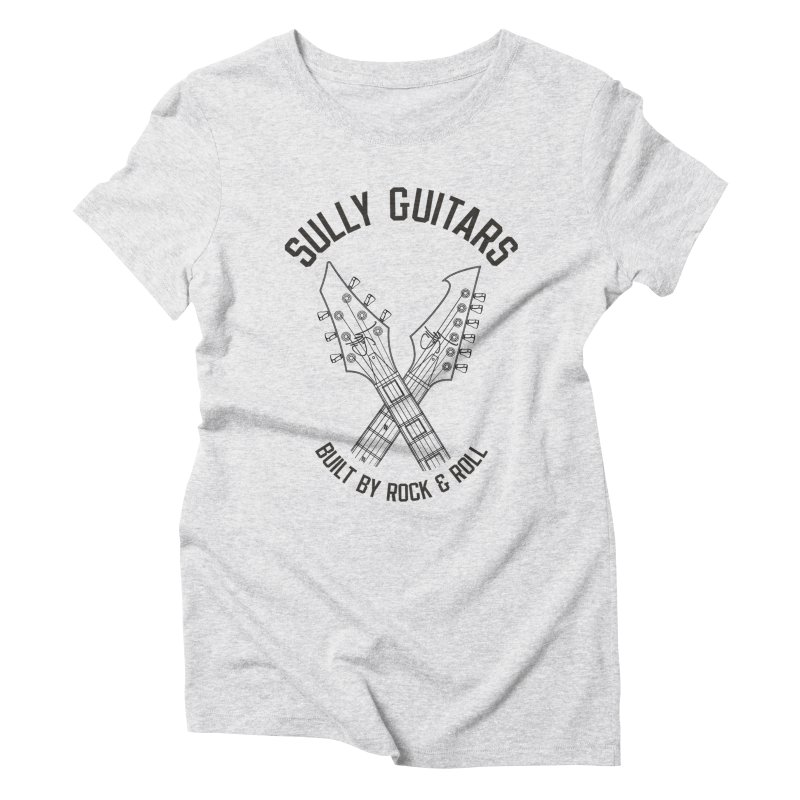 Sully Guitars - Crossed necks Women's Triblend T-Shirt by Sully Guitars Merch