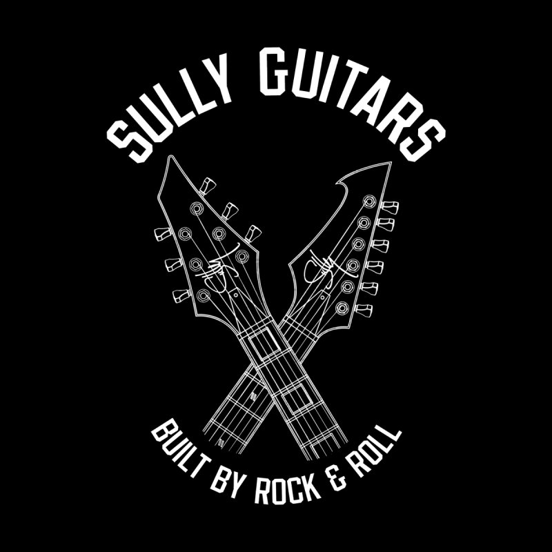Sully Guitars - Crossed necks (for dark colored items) by Sully Guitars Merch