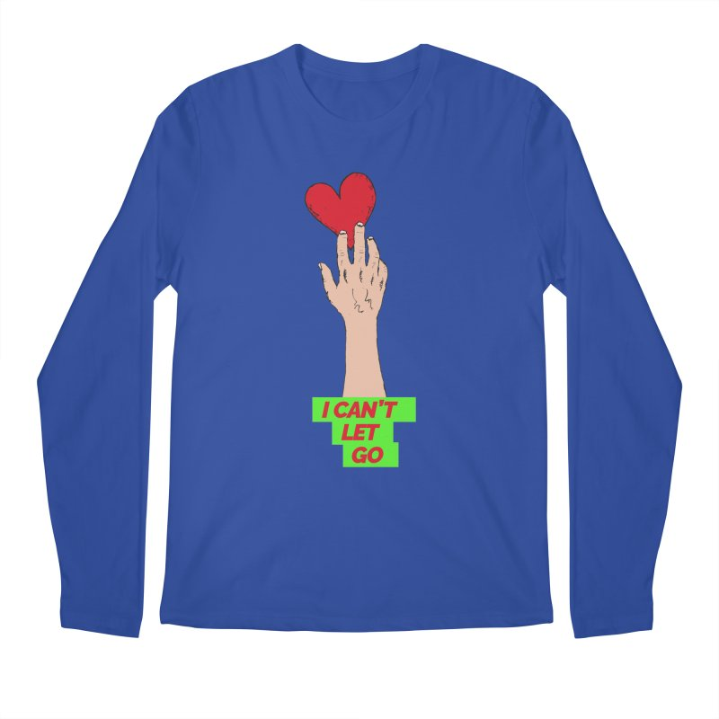 I can't let go Men's Regular Longsleeve T-Shirt by Strictly Underground Music's Shop