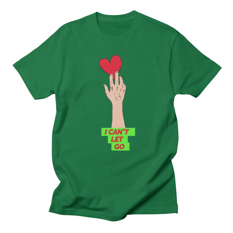 I can't let go Men's Regular T-Shirt by Strictly Underground Music's Shop