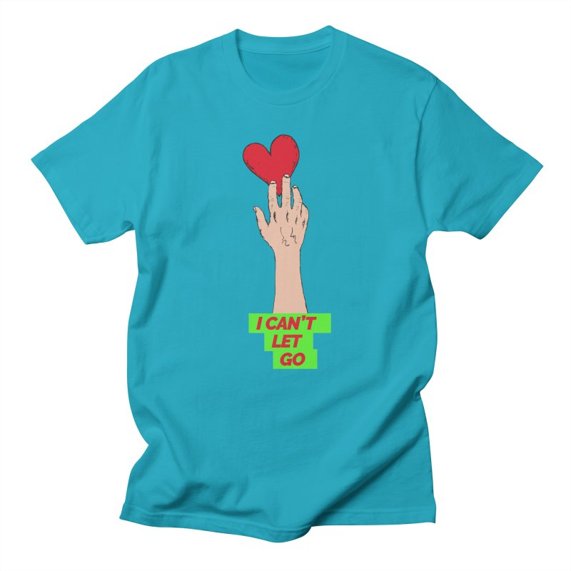 I can't let go Men's T-Shirt by Strictly Underground Music's Shop