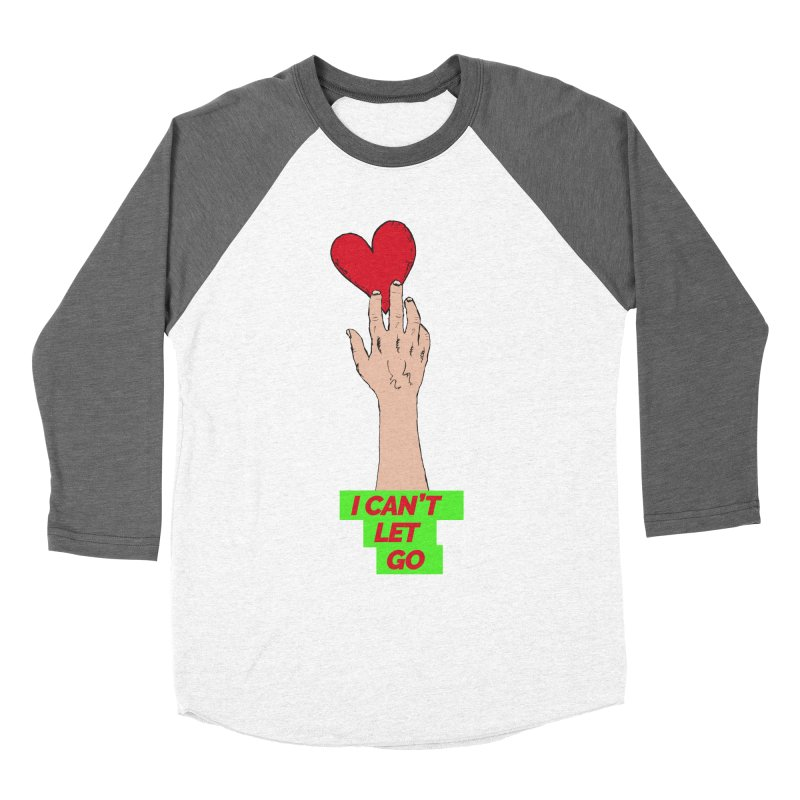 I can't let go Men's Baseball Triblend Longsleeve T-Shirt by Strictly Underground Music's Shop