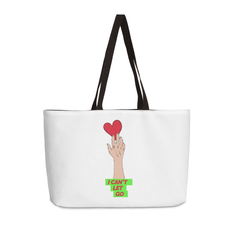 I can't let go Accessories Weekender Bag Bag by Strictly Underground Music's Shop