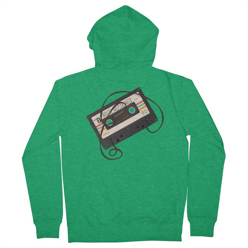 House music mixtape Men's Zip-Up Hoody by Strictly Underground Music's Shop