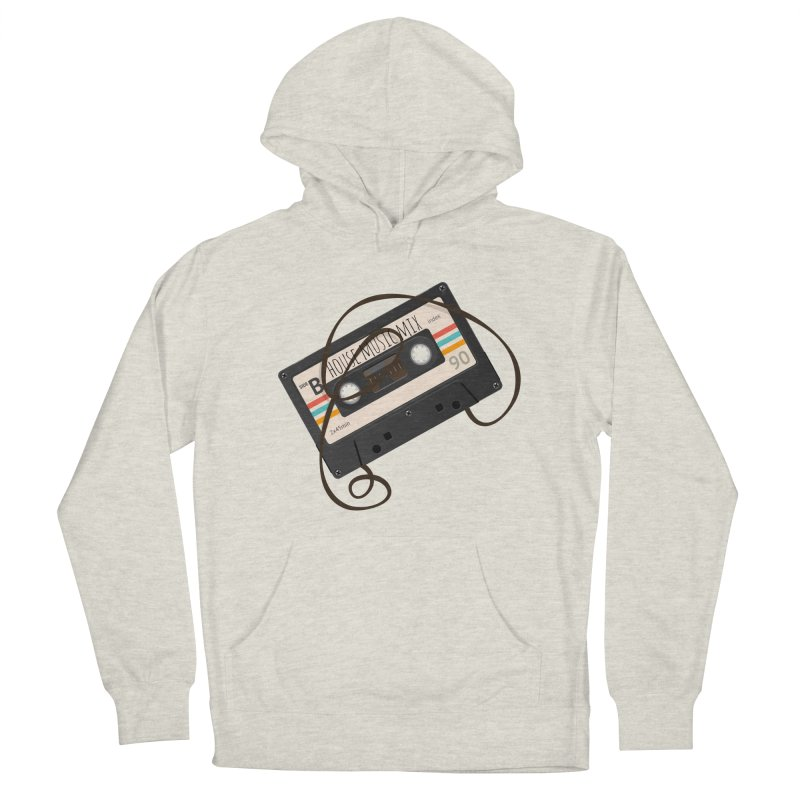 House music mixtape Men's French Terry Pullover Hoody by Strictly Underground Music's Shop
