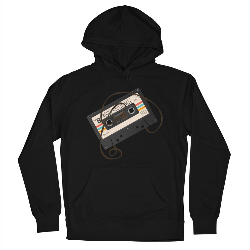 House music mixtape Men's Pullover Hoody by Strictly Underground Music's Shop