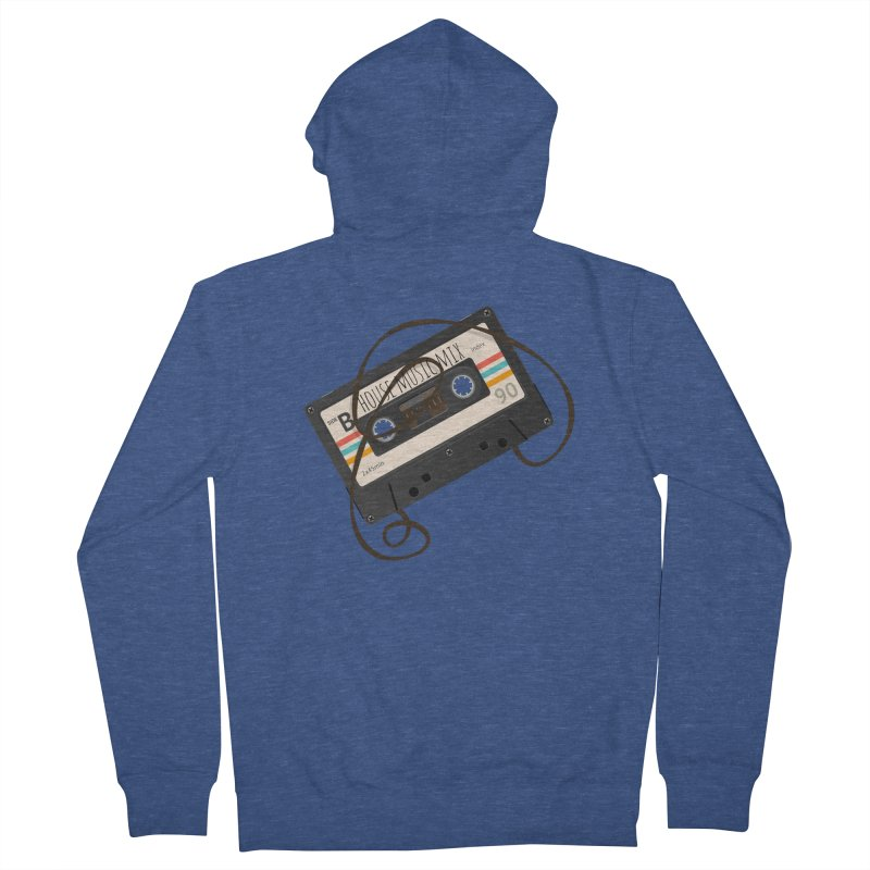 House music mixtape Women's Zip-Up Hoody by Strictly Underground Music's Shop