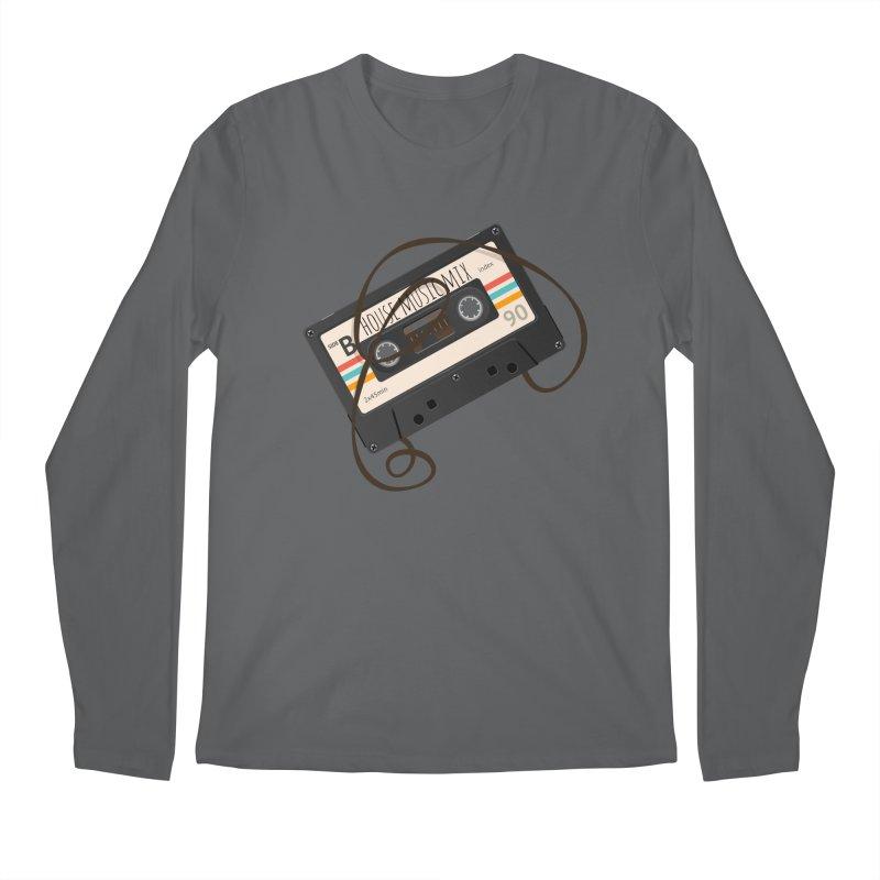 House music mixtape Men's Regular Longsleeve T-Shirt by Strictly Underground Music's Shop