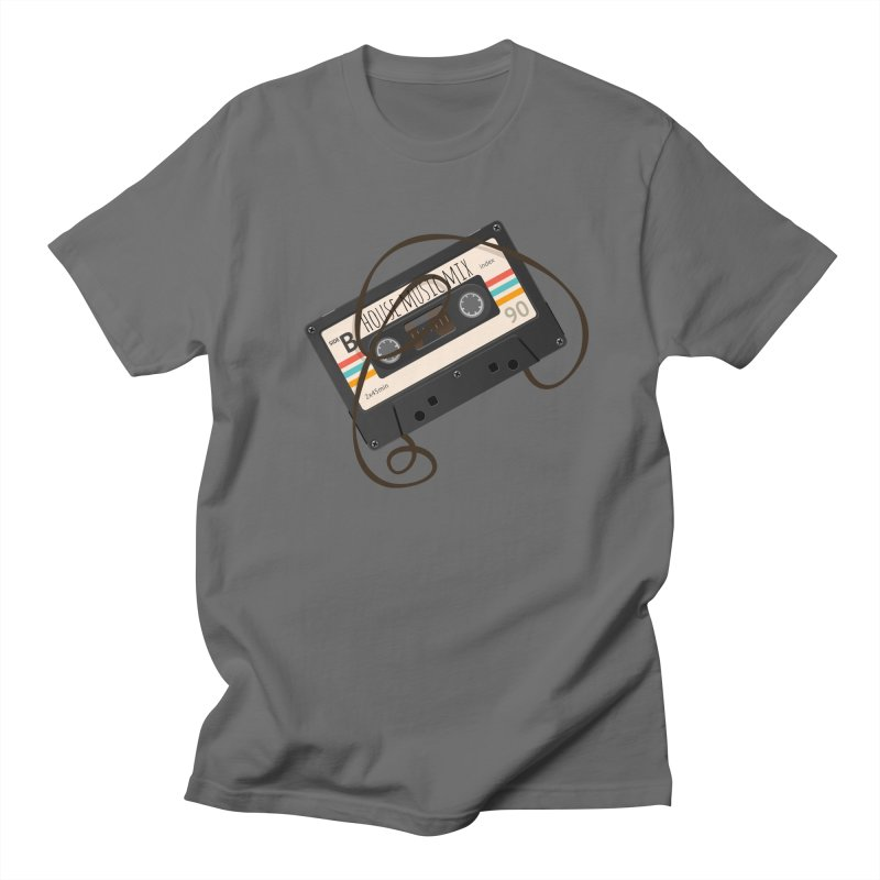 House music mixtape Men's Regular T-Shirt by Strictly Underground Music's Shop