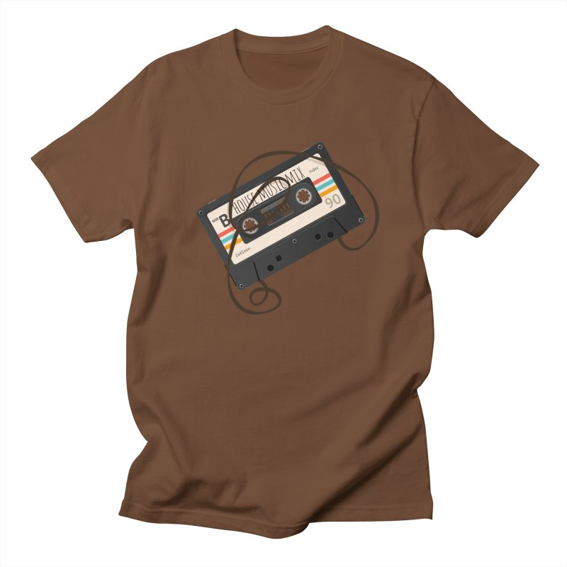House music mixtape Men's T-shirt by Strictly Underground Music's Shop