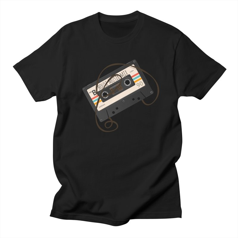 House music mixtape Men's Regular T-Shirt by Strictly Underground Music's Shop