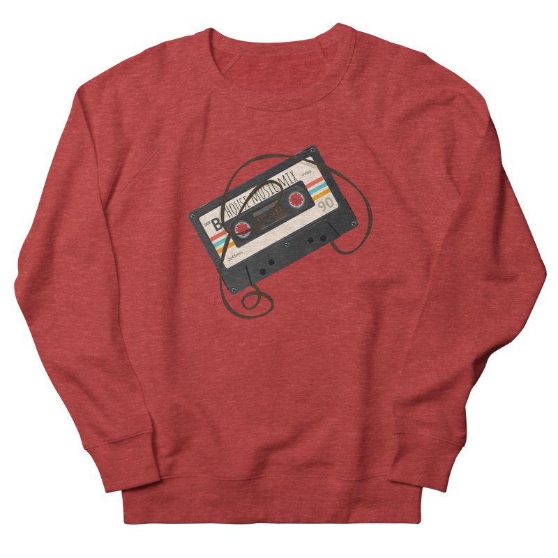 House music mixtape Men's French Terry Sweatshirt by Strictly Underground Music's Shop