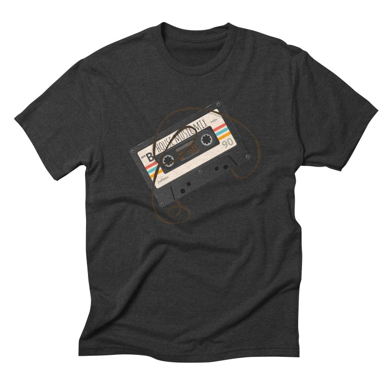 House music mixtape Men's Triblend T-Shirt by Strictly Underground Music's Shop