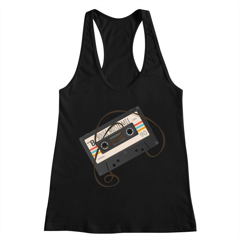 House music mixtape Women's Tank by Strictly Underground Music's Shop