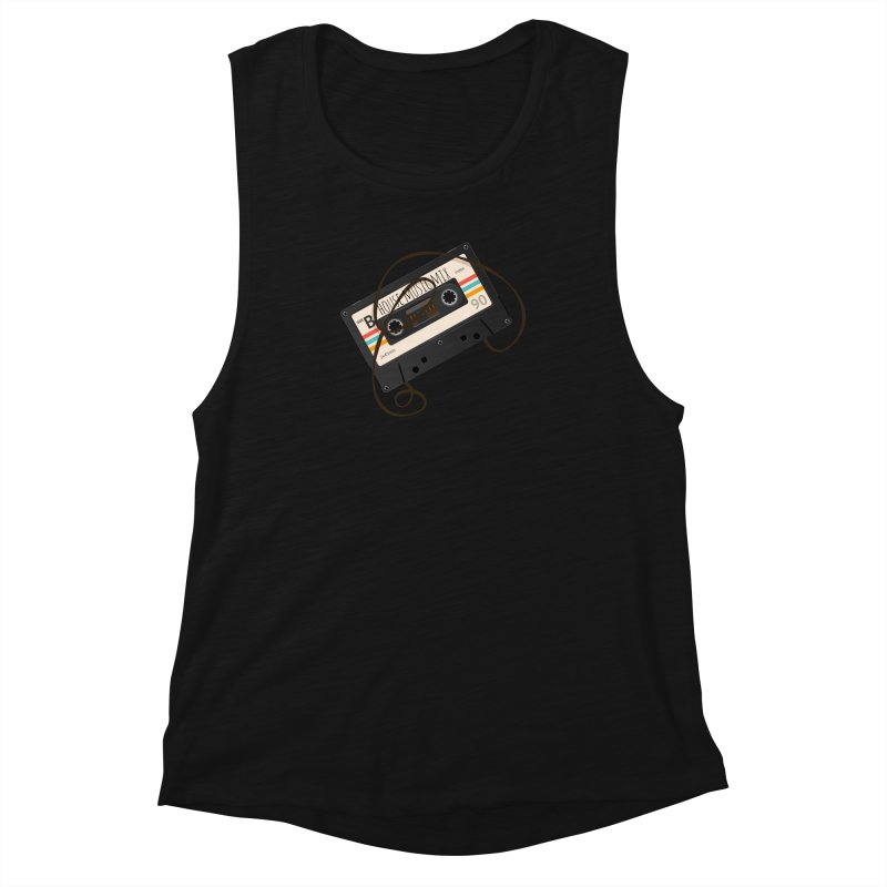 House music mixtape Women's Muscle Tank by Strictly Underground Music's Shop