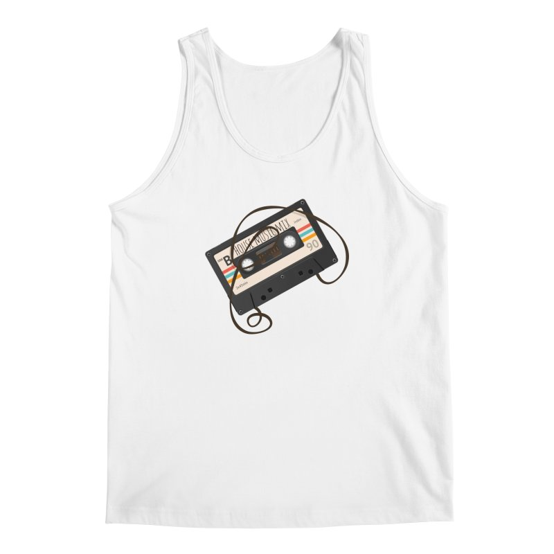 House music mixtape Men's Regular Tank by Strictly Underground Music's Shop