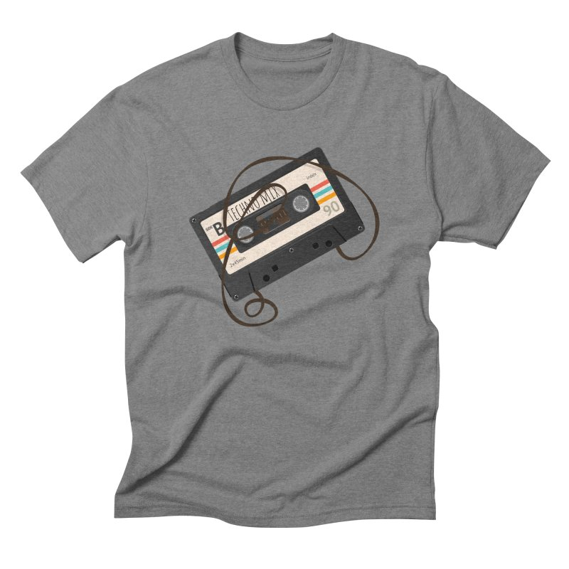 Techno mixtape  Men's T-Shirt by Strictly Underground Music's Shop