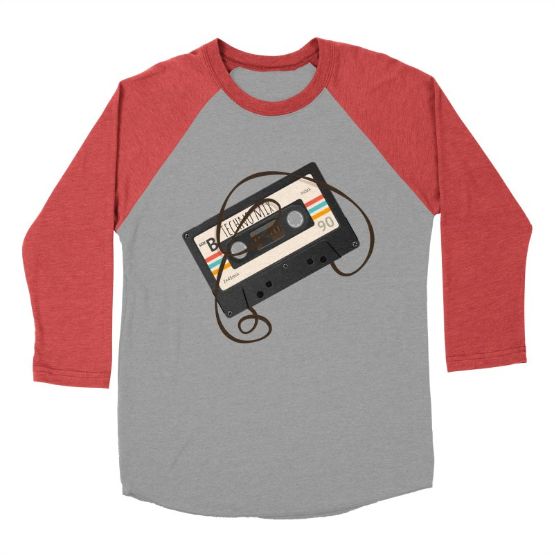 Techno mixtape  Men's Longsleeve T-Shirt by Strictly Underground Music's Shop