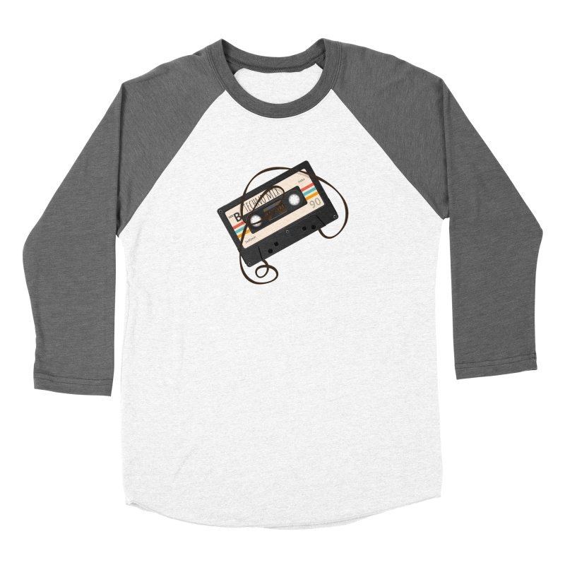 Techno mixtape  Women's Baseball Triblend Longsleeve T-Shirt by Strictly Underground Music's Shop