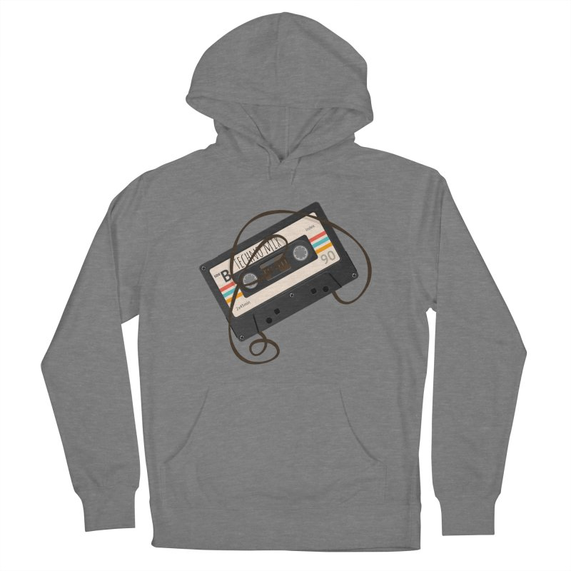 Techno mixtape  Women's Pullover Hoody by Strictly Underground Music's Shop